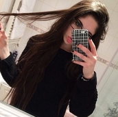 phone cover,iphone case,on point clothing,sweater,black sweater