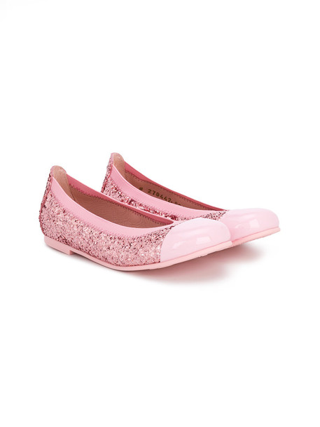 Pretty Ballerinas Kids flats leather purple pink shoes