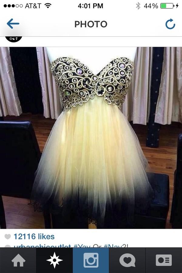 dress ombre dress homecoming dress
