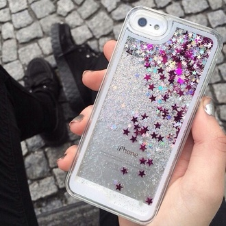 phone cover stars iphone iphone 5 iphone case cute hipster iphone 5 case paillettes silver