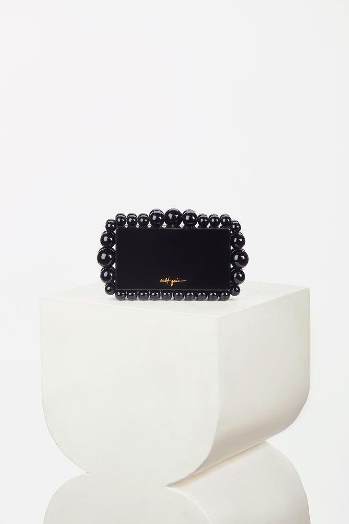 Eos Box Clutch - Black