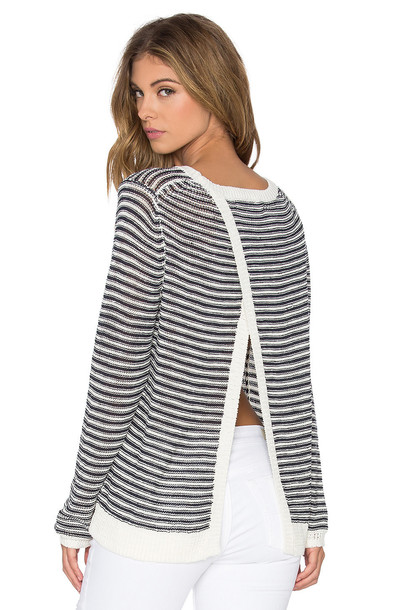 360 Sweater sweater cross back navy