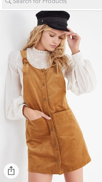 blouse urban outfitters corduroy hipster vintage