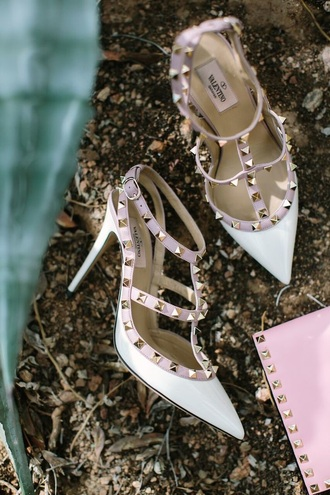 shoes valentino sandals high heel sandals studded shoes