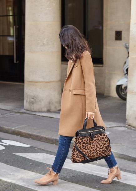 wit&whimsy blogger coat jacket shoes