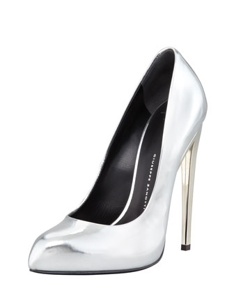 Giuseppe Zanotti Mirror Patent Leather Pump - Bergdorf Goodman