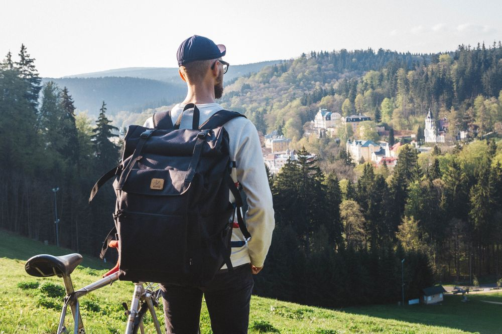 Mess Pack | Rolltop backpack by VELOTTON | BACKPACKS & BAGS