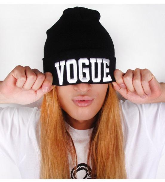 Hot Sale Cheap VOGUE Beanies,Autumn Winter Wool Knitted Men Women Caps Casual Skullies Hip hop London Boy BLACK/GRAY 3 Color -in Skullies & Beanies from Apparel & Accessories on Aliexpress.com