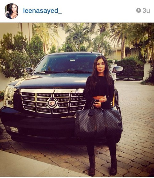 bag black bag taz angels leena sayed travel bag