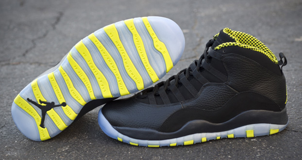 Heads Up: Air Jordan 10 VENOM GREEN Releases Tomorrow ...