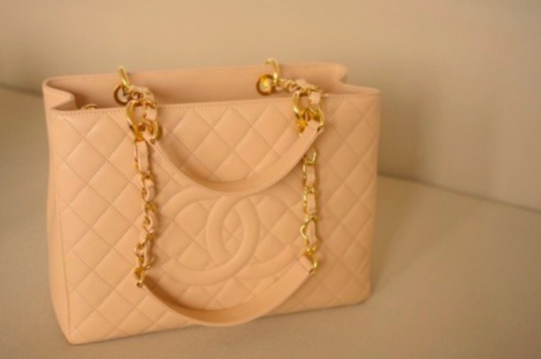bag pink coco chanel purse