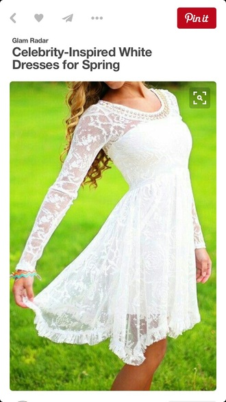 dress formal white dress