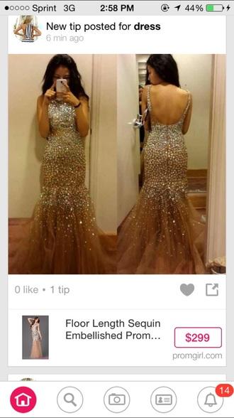 dress prom dress backless prom dress sequin dress