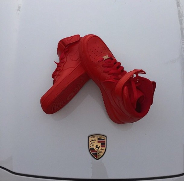 the best attitude 9ea50 7ea9f ... aliexpress shoes red nike air force 1 nike air force 1 high top latvia  wheretoget 7190b