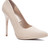 Snake Pointy Pump - Nude