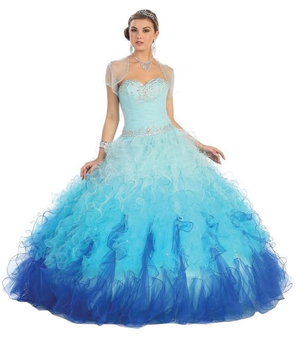 amazoncom enjoybuys ball gown formal prom dress strapless ruffled wedding dress with jacket clothing