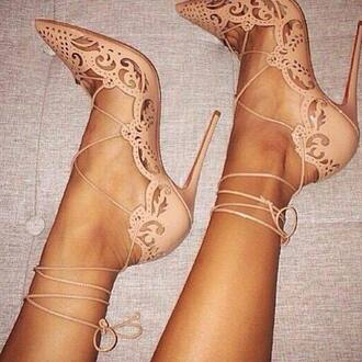 shoes high heels stilettos tumblr lace up heels