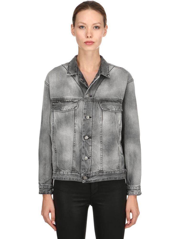 REPRESENT Denim Jacket in grey