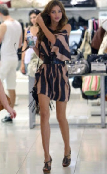 miranda kerr dress brown dress strips off the shoulder dress leopard print cheetah dress cheetah print fashion black
