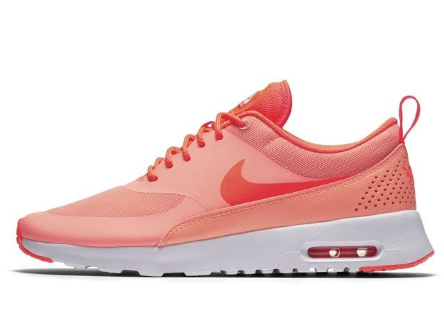Nike Air Max Thea Womens 599409-608 Atomic Pink Crimson Running Shoes Size 8