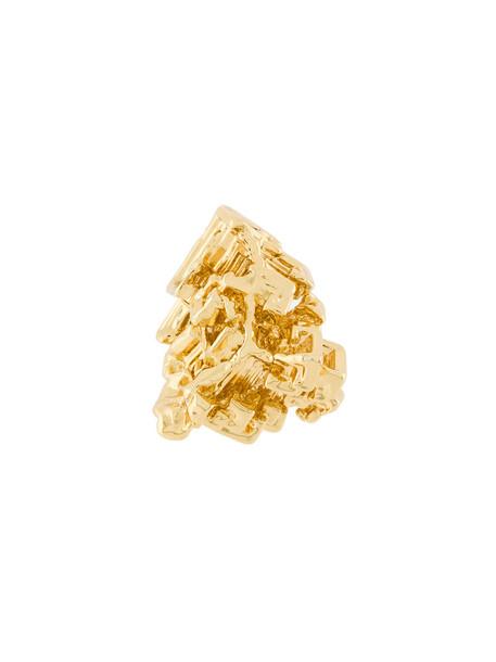Coup De Coeur women gold grey metallic jewels