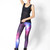 Galaxy Purple Leggings | Black Milk Clothing