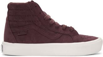 sneakers burgundy shoes