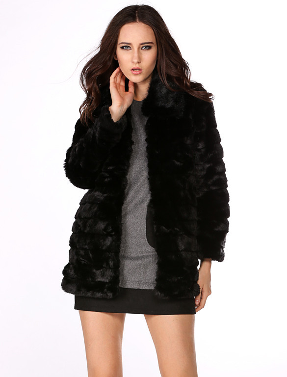 Teddi faux fur coat