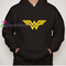 Wonder woman logo hoodie gift cool tee shirts cool tee shirts for guys