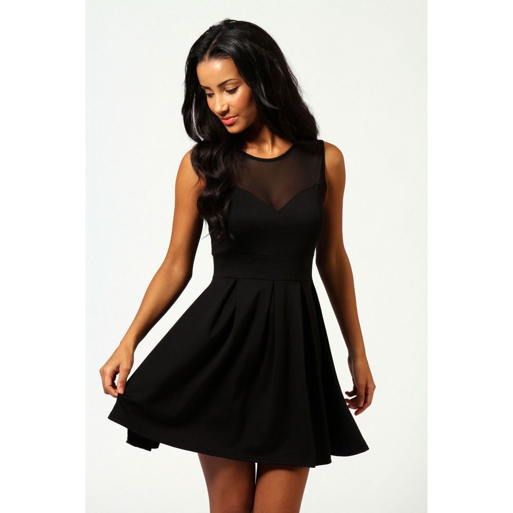 Brand New Boohoo Cheryl Skater Dress