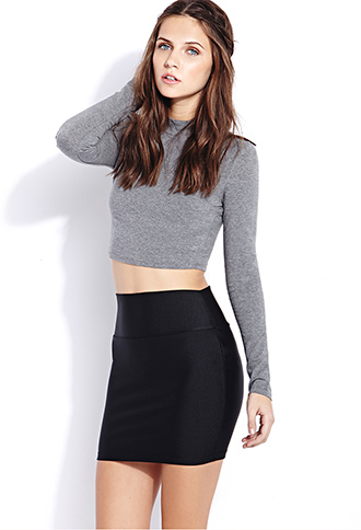 Shine On Mini Skirt | FOREVER21 - 2000090837