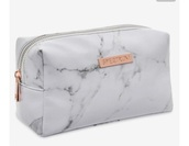bag,marble,spectrum,purse,makeup bag,white