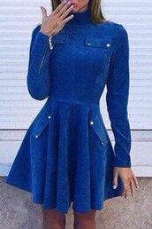 dress,blue,fashion,style,long sleeves,girly,cool,pockets,rosegal,dec,rosegal-dec,black dress,boho dress,dress corilynn,maxi dress,prom dress,lace dress,cute dress,outfit,outfit idea,fall outfits,tumblr outfit,winter outfits,cute outfits,office outfits,urban outfitters,date outfit,blue dress,sexy dress