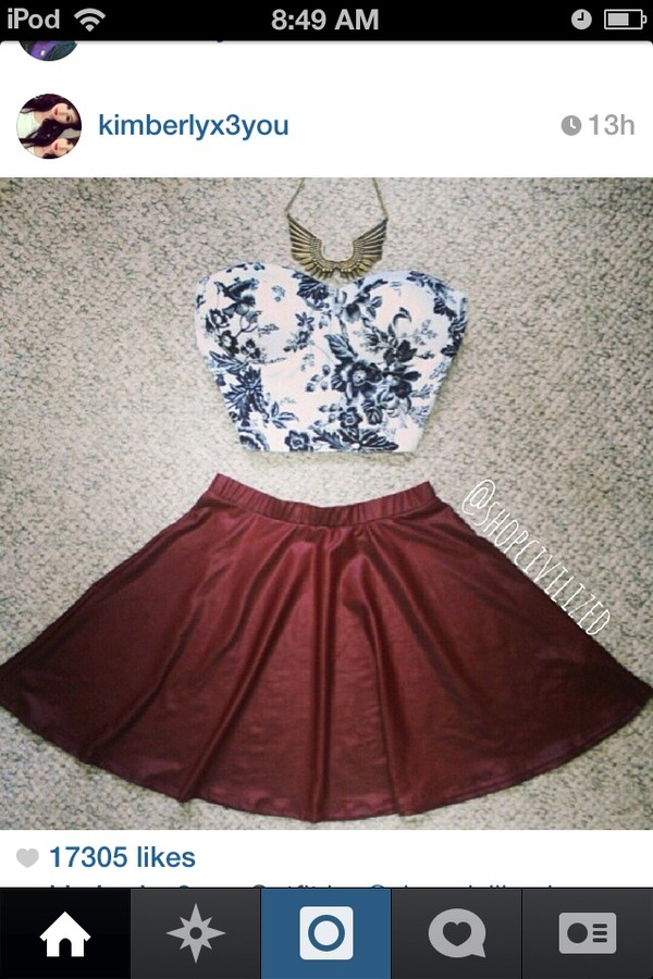 skirt gold wings necklace skater skirt corset top tank top jewels