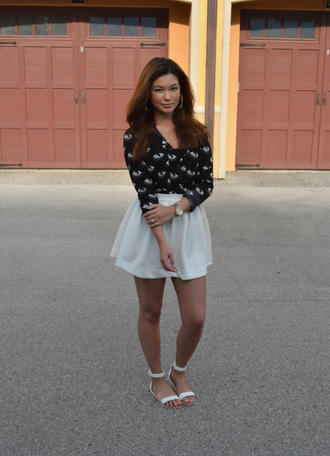 raspberry jam shirt skirt shoes jewels