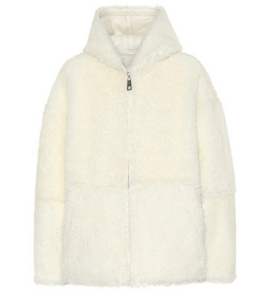 Common Leisure Reversible shearling jacket in white