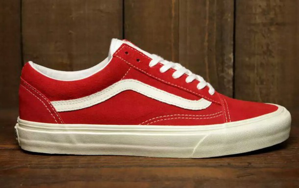 red vans old skool