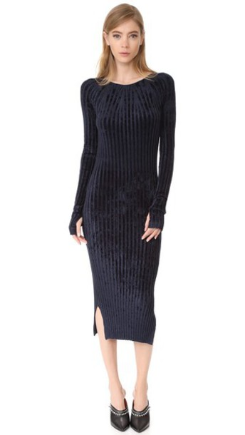 Helmut Lang dress navy