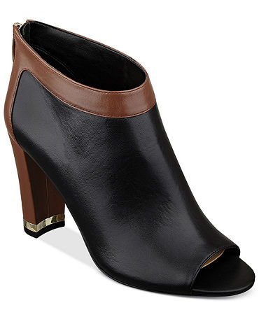 Marc Fisher Laera Open Toe Shooties - Shoes - Macy's