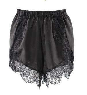 Stitching Lace Casual Hot Shorts