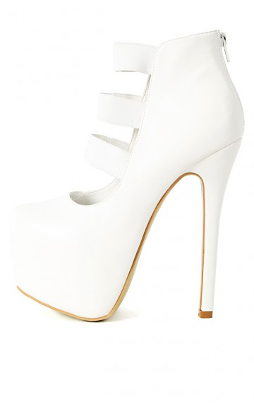 Salome-42 Elastic Strappy Pumps | MakeMeChic.com