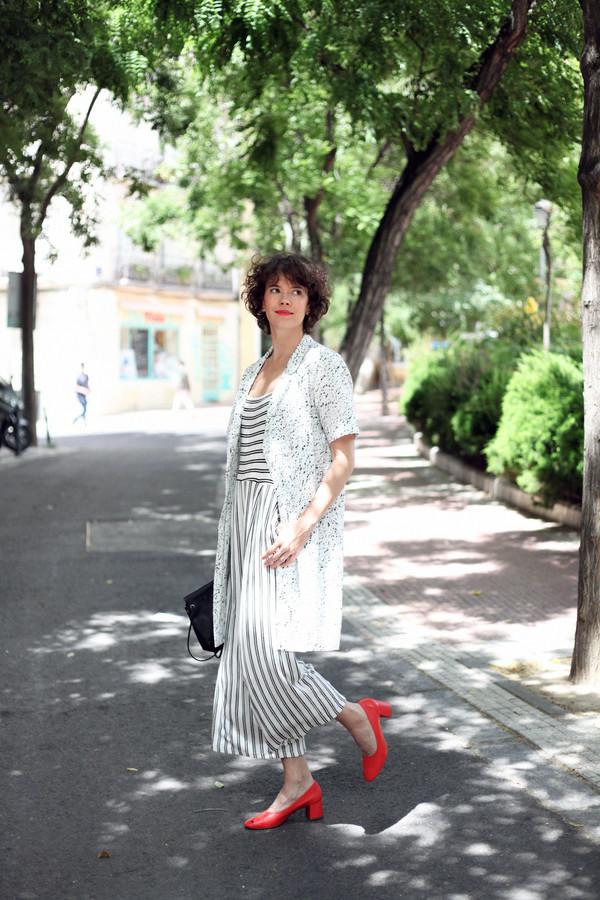 che cosa blogger coat bag shoes