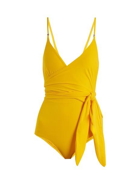 Stella McCartney yellow swimwear