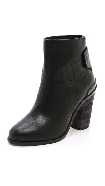 Rag & Bone Kerr Leather Booties | SHOPBOP
