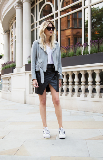 t-shirt shoes jacket skirt camille over the rainbow