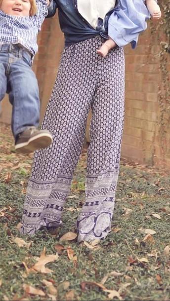 pants palazzo pants wide-leg pants