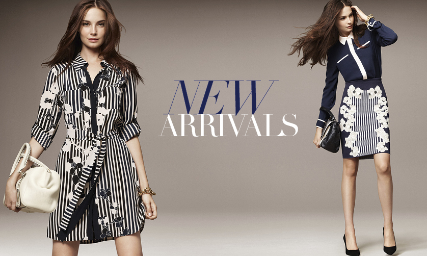 DVF | New Arrivals - Designer Dresses - Women's Tops - Designer Clothing