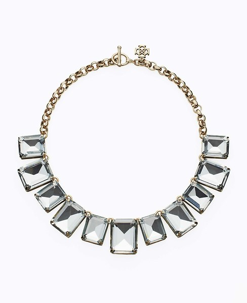 Midnight Frost Statement Necklace | Ann Taylor