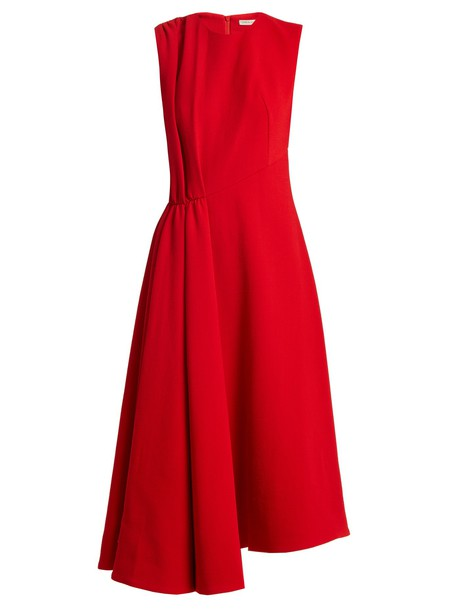 EMILIA WICKSTEAD dress wool red