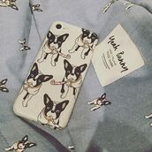 phone cover,yeah bunny,frenchie,dog,silver,glitter,silver glitter,iphone cover,iphone case